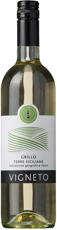 Qwine Srl Vigneto Grillo Terre Siciliane Q Wine Srl, IGT 2015