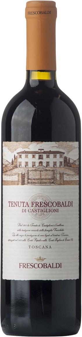 Frescobaldi Tenuta Frescobaldi 3 stk. trækasse med logo IGT 2015