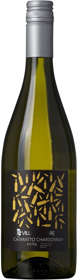 Qwine Srl Villa di Mare Cataretto/ Chardonnay, 3/4  ltr. Srl IGT 2011