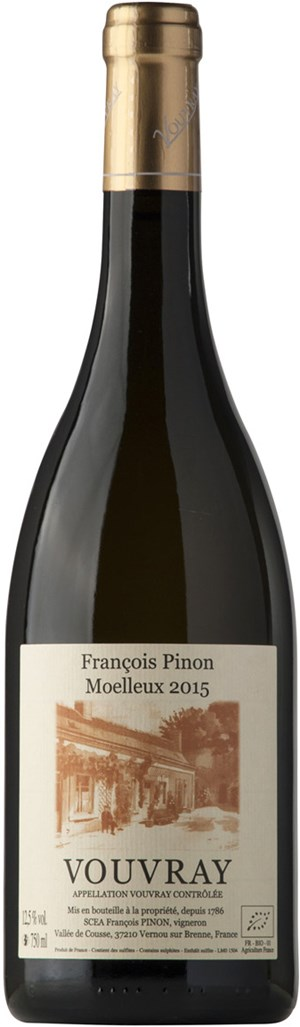 Francois Pinon Vouvray Moelleux, 1989