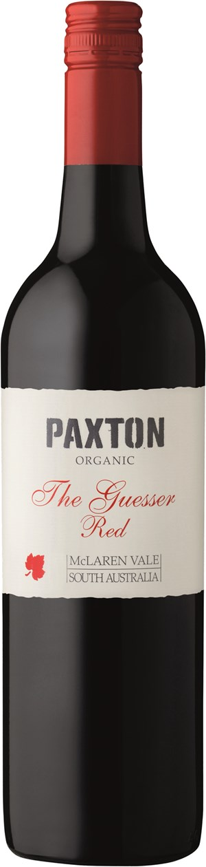 Paxton THE GUESSER RED BIO, Mclaren Vale,  Vineyards 2015