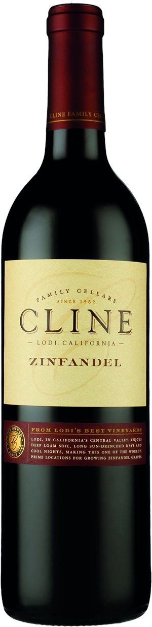 Cline Cellars ZINFANDEL LODI, California 2015