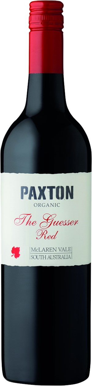 Paxton THE GUESSER RED BIO, Mclaren Vale,  Vineyards 2016