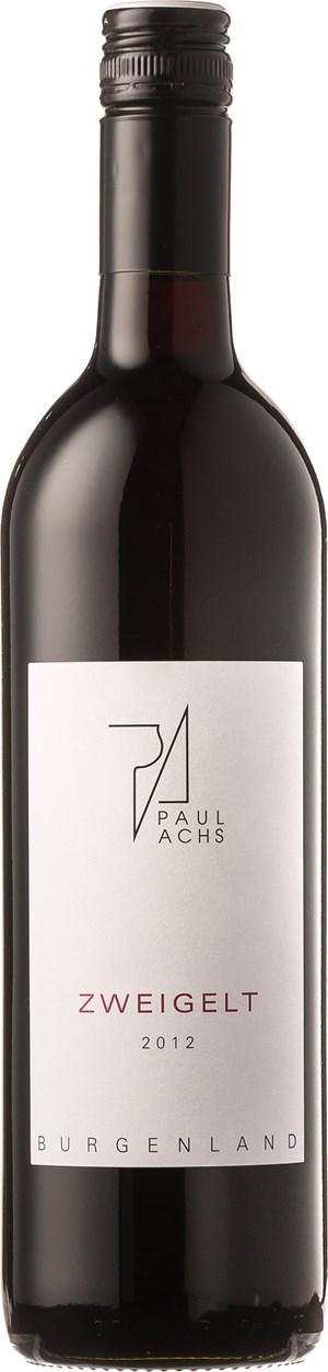 Weingut Paul Achs Zweigelt 2012
