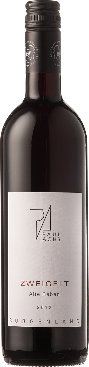Weingut Paul Achs Zweigelt - Alte Reben 2012