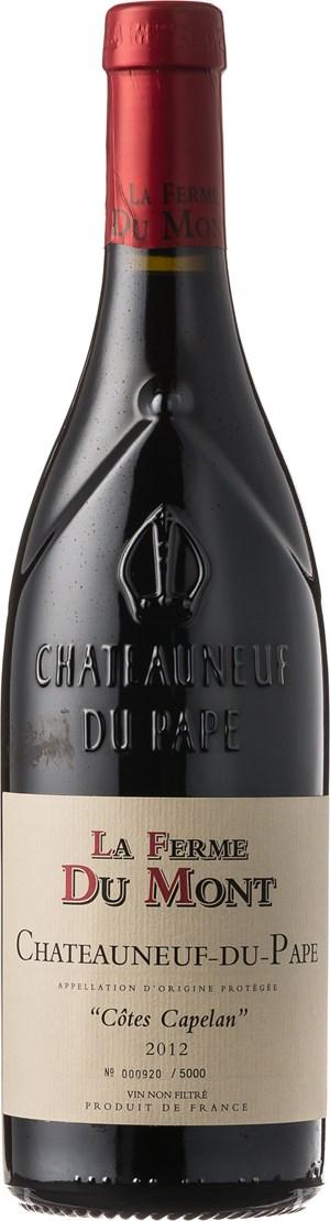 La Ferme du Mont Chateauneuf-du-Pape Côtes Capelan 2012