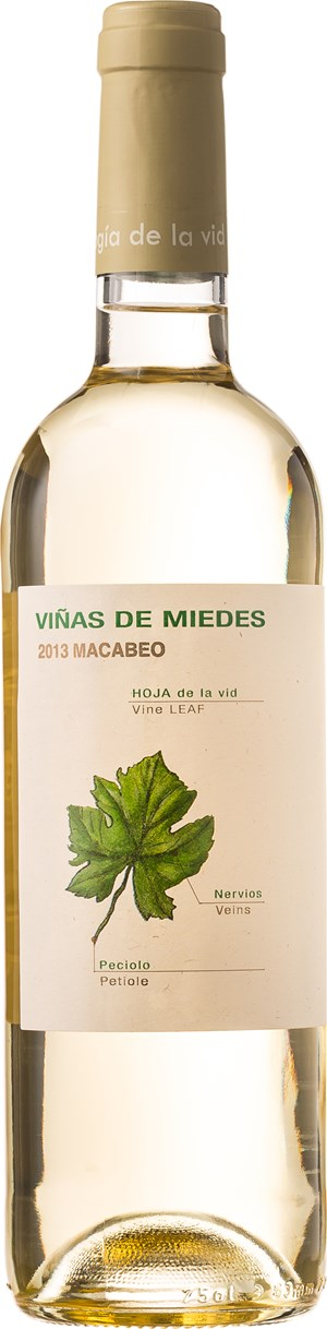 Bodegas San Alejandro Vinas de Miedes - Blanco 2015