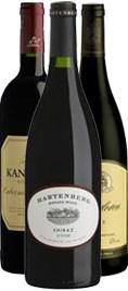 Hartenberg, Vriesenhof, Kanonkop mfl Winefinders Röda Sydafrikalåda